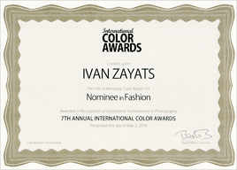 International Color Awards 2014, Nominee