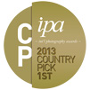 IPA 2013 - Top Country Pick, 1st place